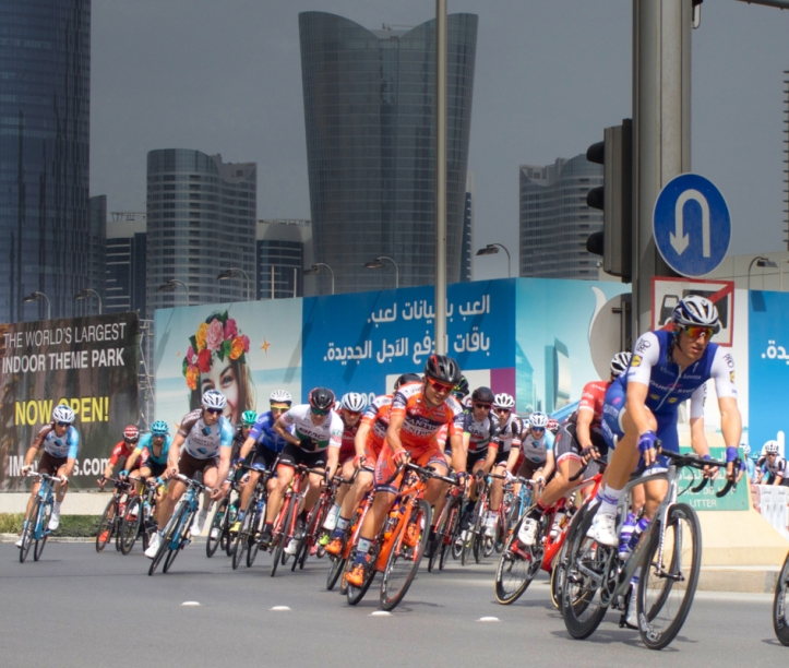 Abu Dhabi Tour Bike Race