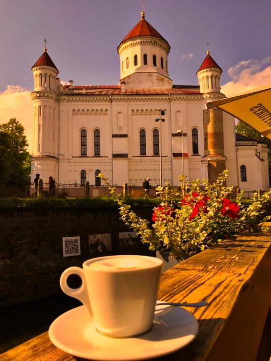 coffee church Vilnius Lithuania