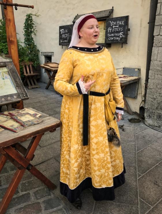 Tallin 15th Century dress